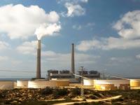 תחנת כוח אשקלון חברת חשמל אנרגיה / צלם: רויטרס